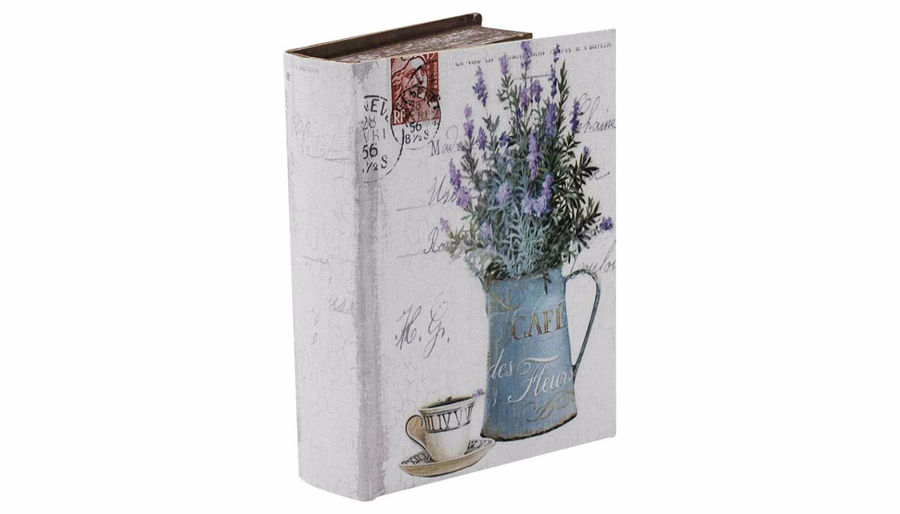 Picture of HZ Lavender Book Box Small