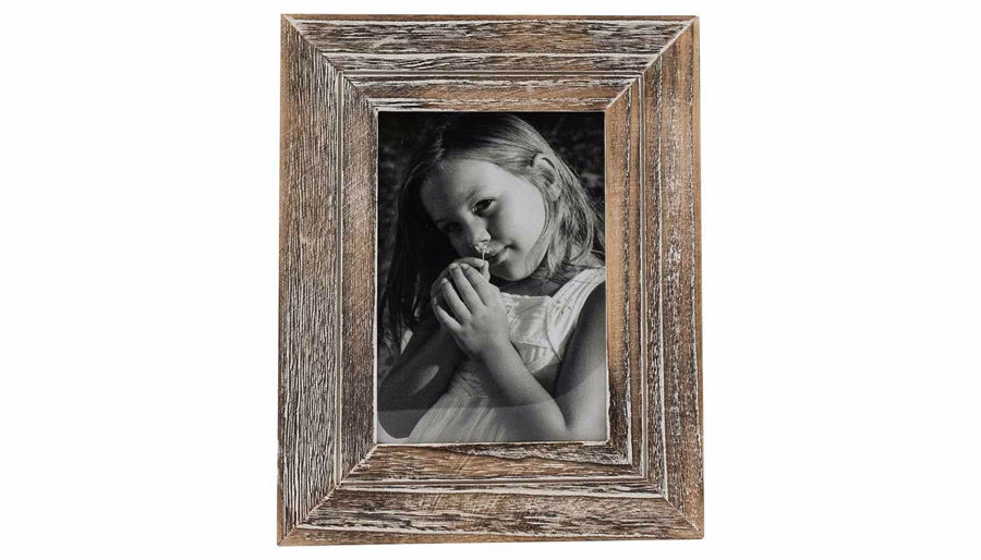 Imagen de HZ Distressed Wood Frame Medium