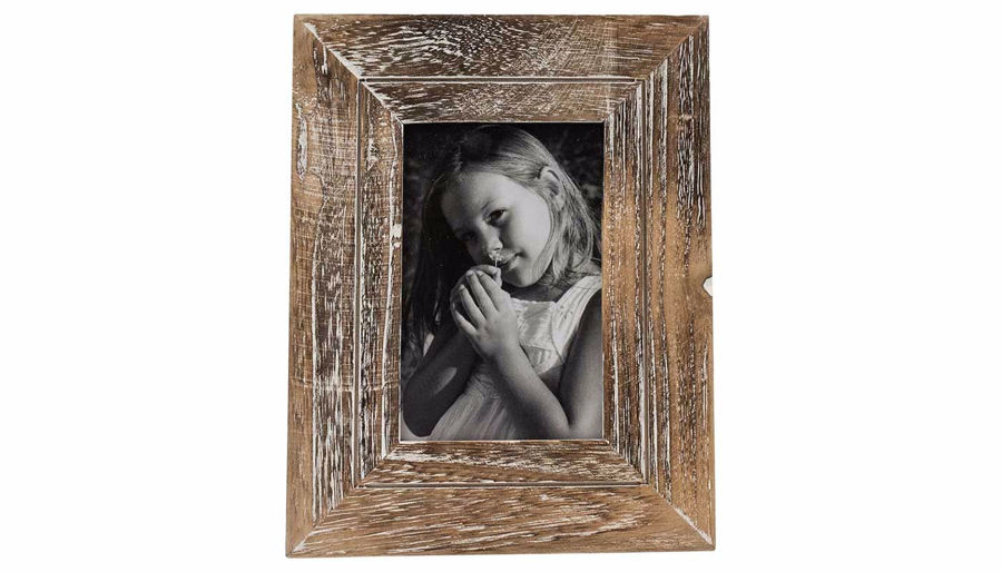 Imagen de HZ Distressed Wood Frame Small