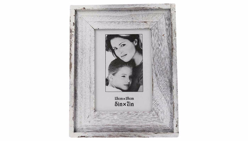 Picture of HZ White Distressed Frame