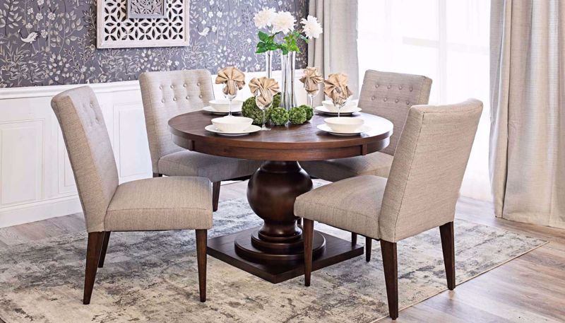 "Picture of Paradise 48"" Dining Table & Chairs"