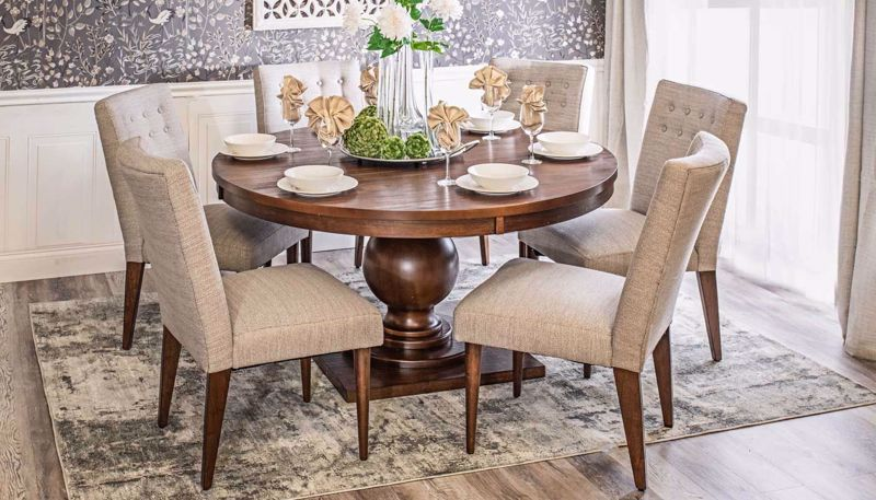 "Picture of Paradise 60"" Dining Table & Chairs"