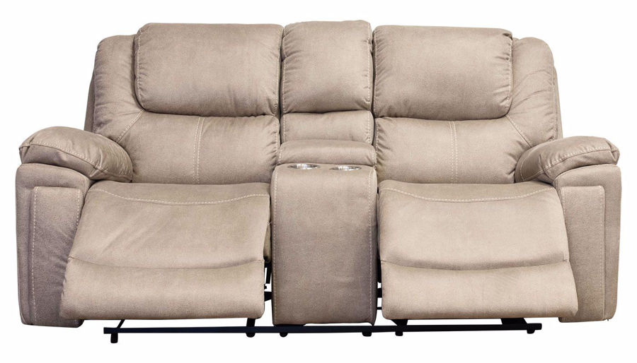 Picture of Erin Power Loveseat with Console