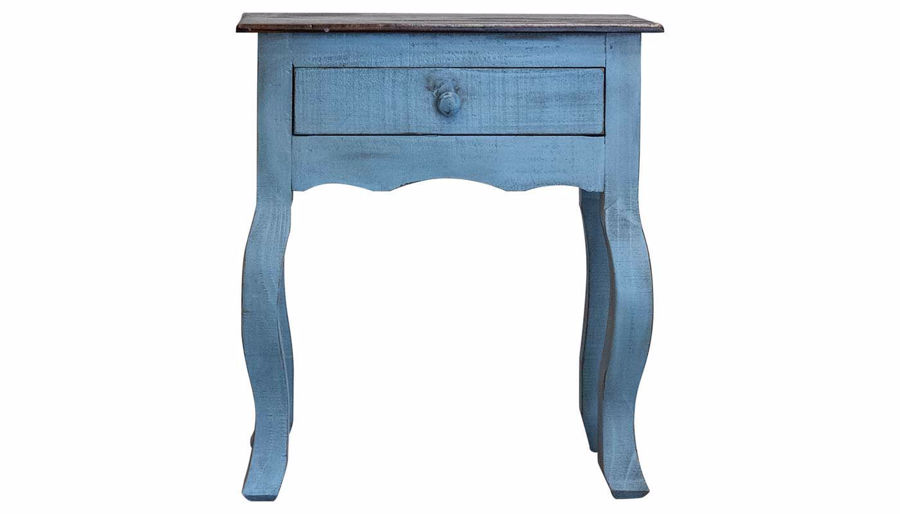 Imagen de Side Accent Table Blue 427