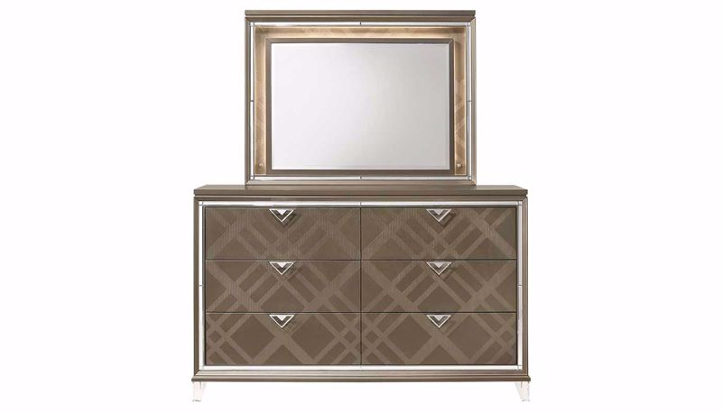 Picture of Kendall Dresser & Mirror