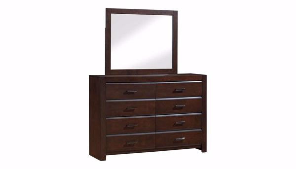 Picture of Nickolas Full 3 Piece Bed, Dresser, Mirror & Nightstand