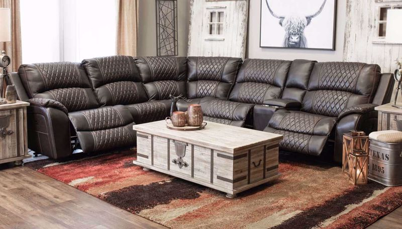 Imagen de Martin 6 Piece Power Sectional
