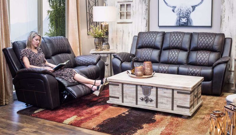 Picture of Aston Power Sofa & Loveseat