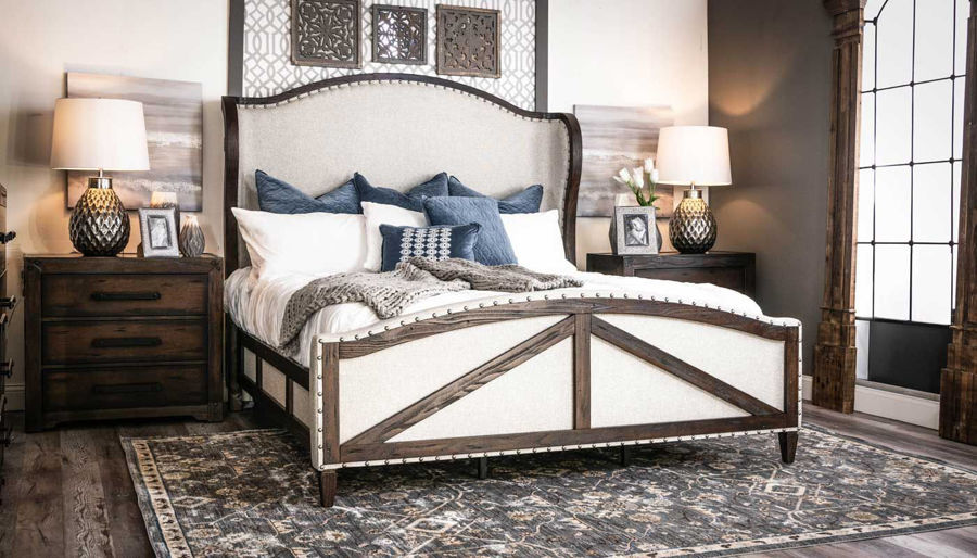 Picture of Rampart King Bed, Dresser & Mirror