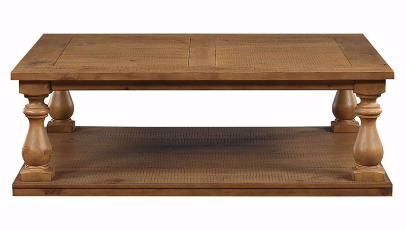 Imagen de St. James Light Pine Coffee Table