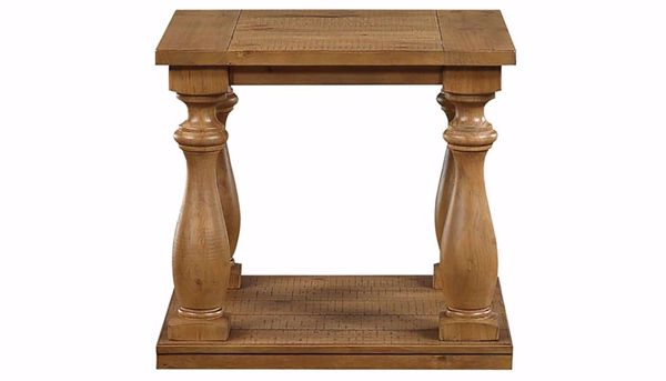 Imagen de St. James Light Pine End Table