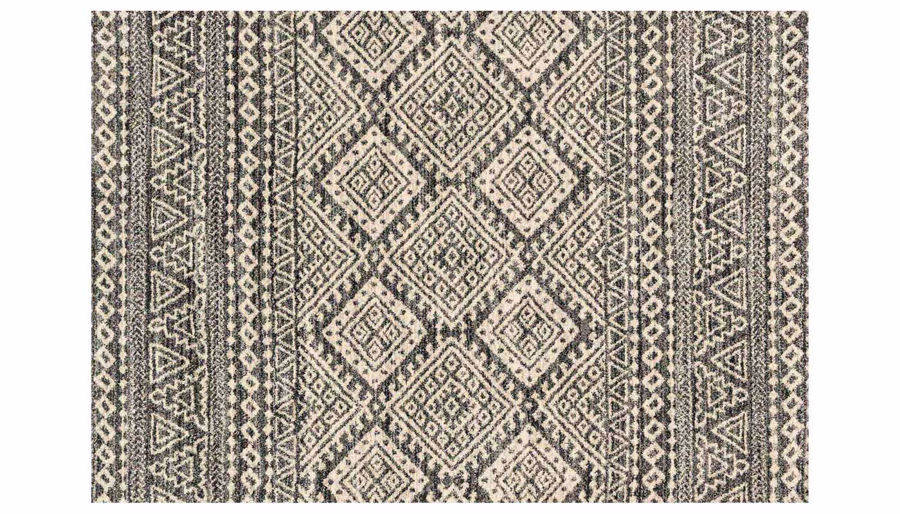 """Picture of Emory Graphite/Ivory Rug 7'7""""X10'6"""