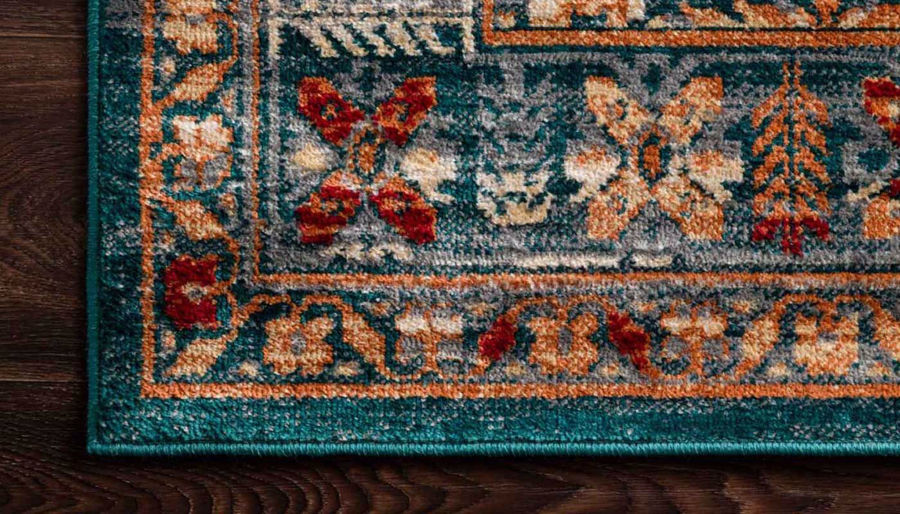 "Picture of Isadora Lagoon Multi Rug 2'7""X8'"