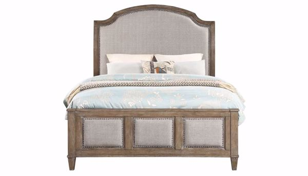 Imagen de Riverside 3-Piece Queen Bed, Dresser, Mirror & Mirrored Nightstand