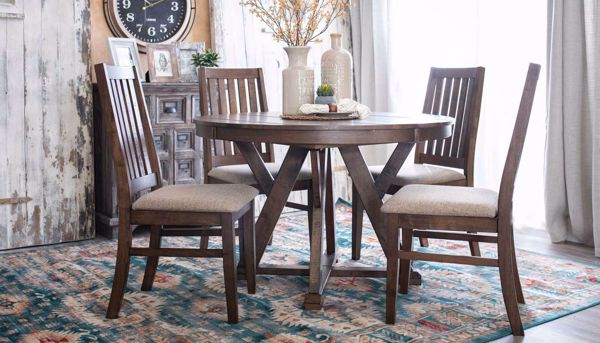 Imagen de Carrie Dining Table & 4 Chairs