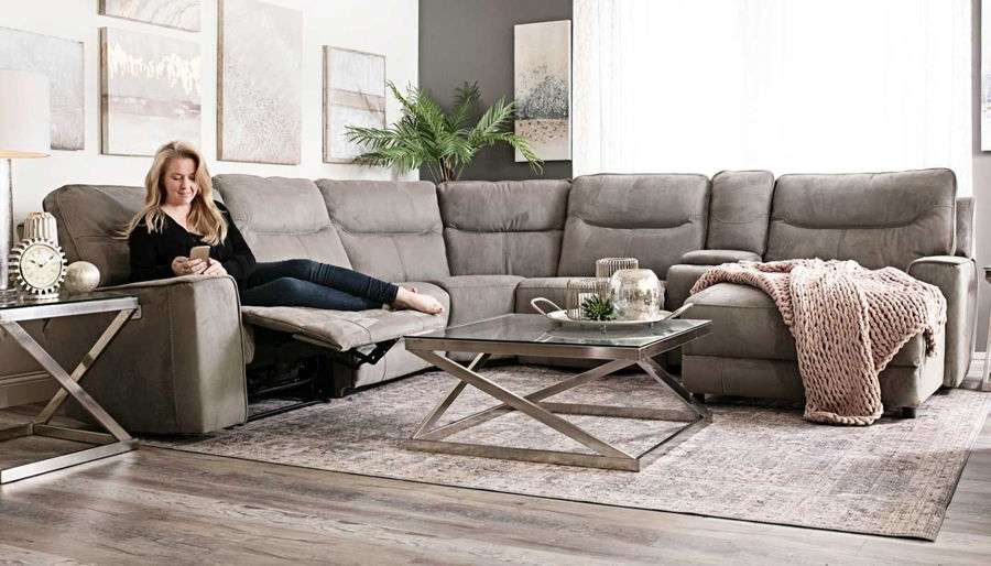 Picture of Arbor 6 Piece Sectional With Chaise