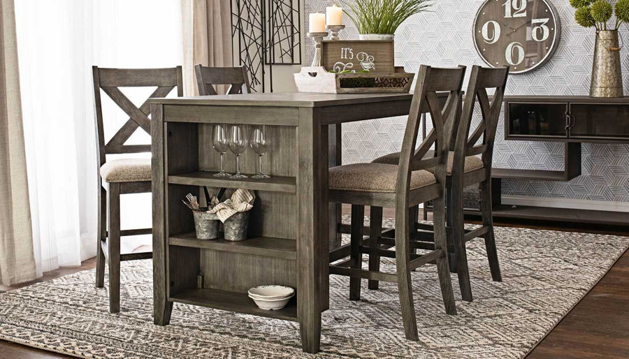 Picture of Zhara Counter Height Table & Stools