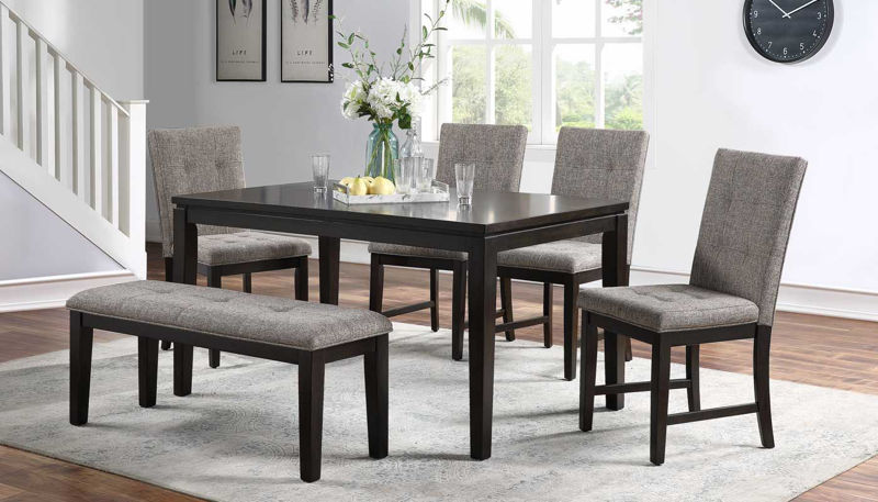 Picture of Julian Table, 4 Chairs & a Bench