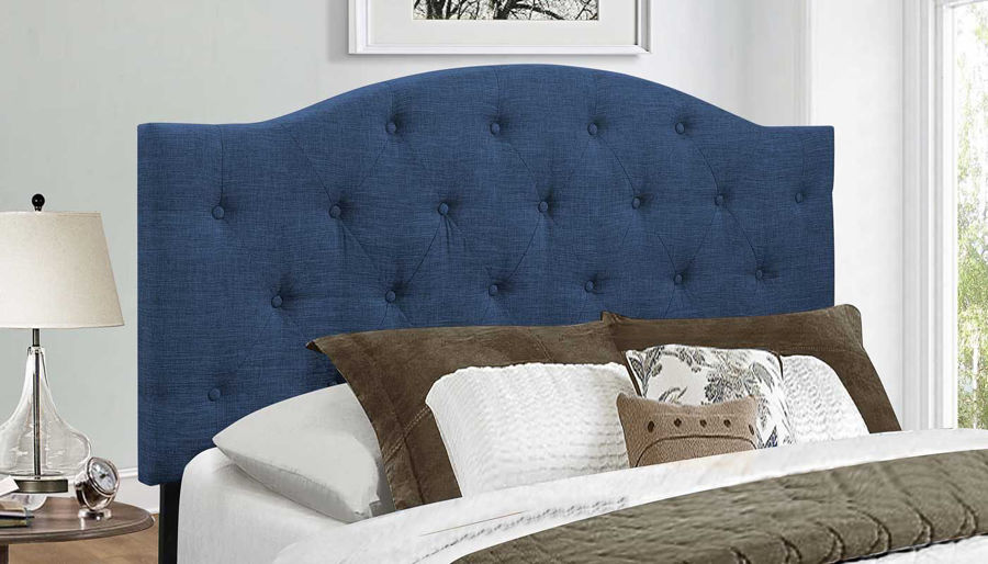Picture of Queen Headboard Blue