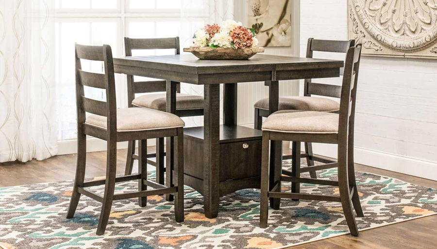 Picture of Tulip Counter Height Table & Stools