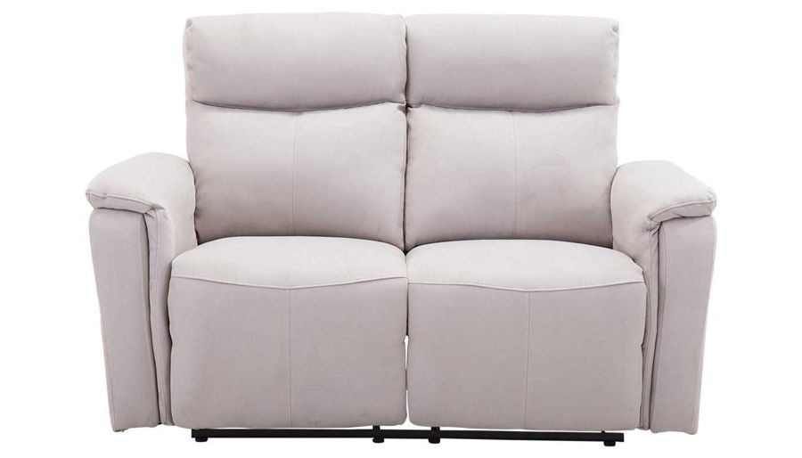 Picture of Aaron Light Grey Power Loveseat