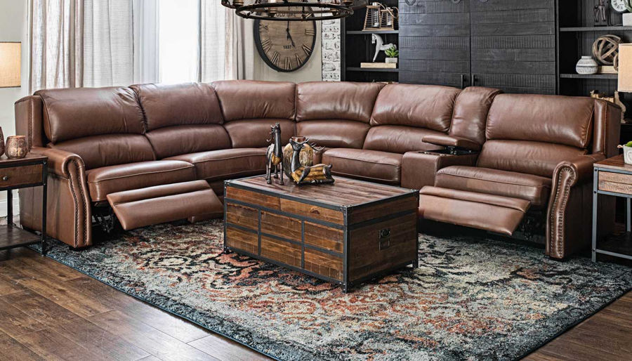 Picture of John Wayne 6 Piece Sectional