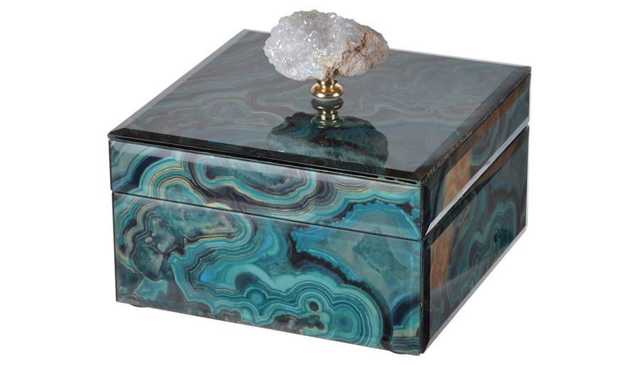 Picture of HZ Bethany Marbled Box Small - 41388