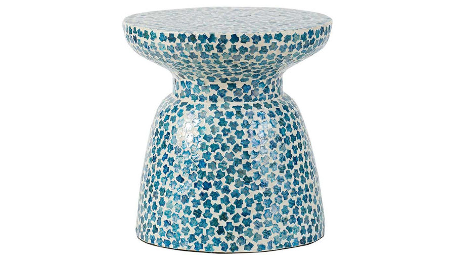 Picture of HZ Blue Mosaic Garden Stool