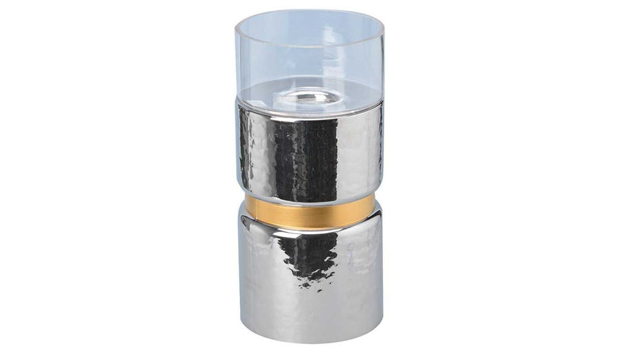 Picture of HZ Halloway Silver Candle Holder Small - 76400-SLV
