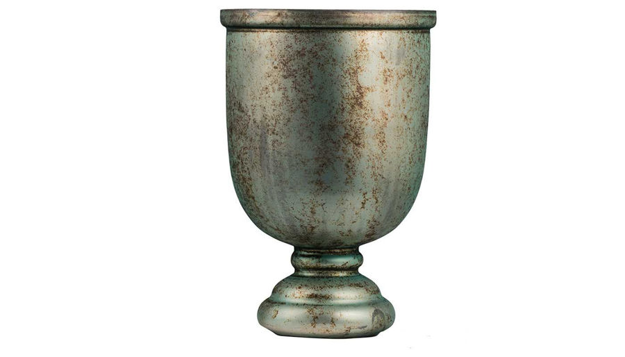 Picture of HZ Emerald Vase With Shiny Finish