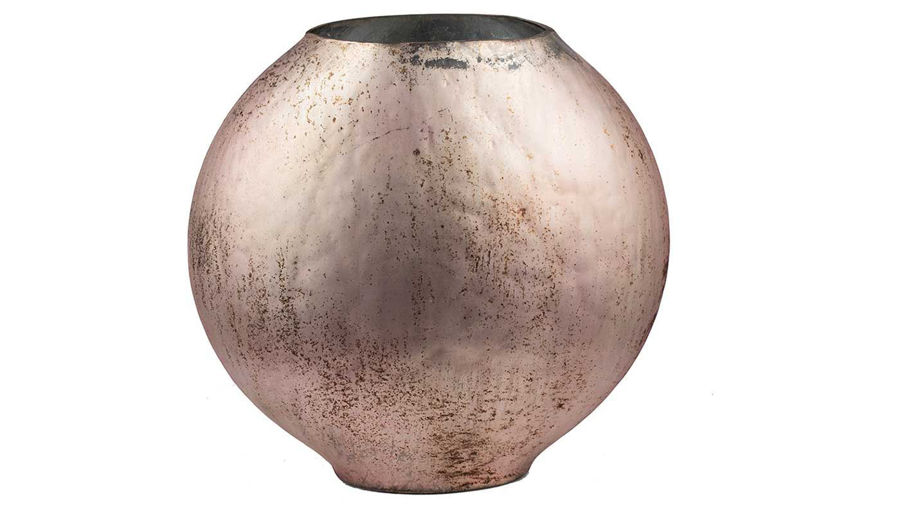 Picture of HZ Round Modern Vase Copper Finish - 76811