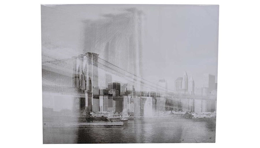 Picture of HZ Foggy Streetscope Print 59X47