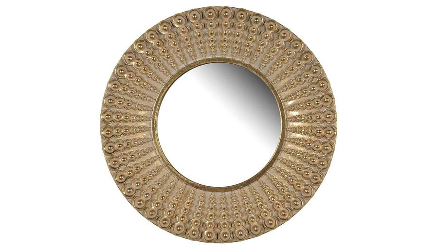 "Picture of HZ Aubrey 14"" Round Mirror"