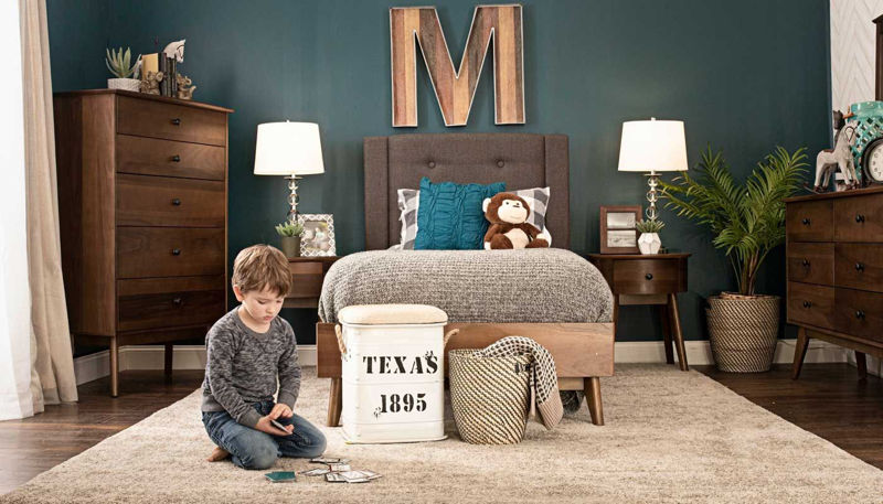 Imagen de Allie Full 3-Piece Bed, Dresser, Mirror & Nightstand
