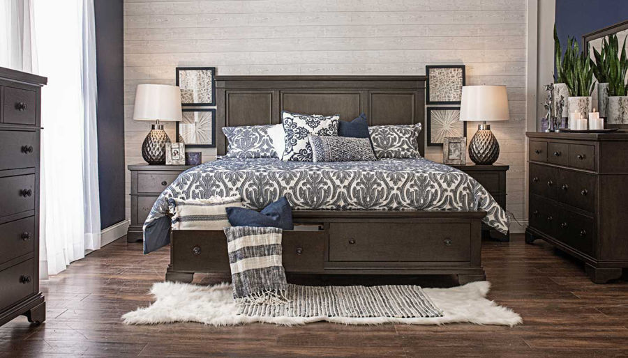 Picture of Daniel 3-Piece Bed, Dresser, Mirror & Nightstand