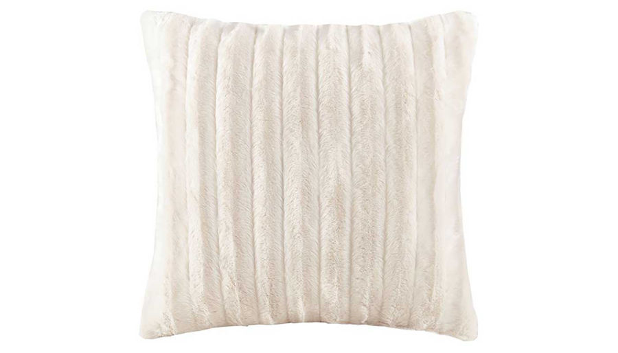 Imagen de Duke Faux Fur Square Pillow