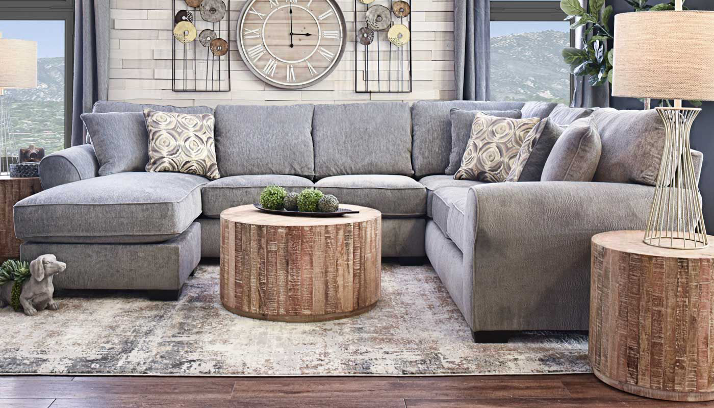 Athena Sectional Home Zone Furniture Furniture Stores