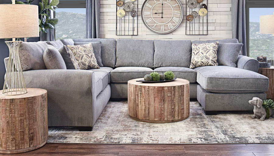 Imagen de Athena Sectional with Right Arm Facing Chaise