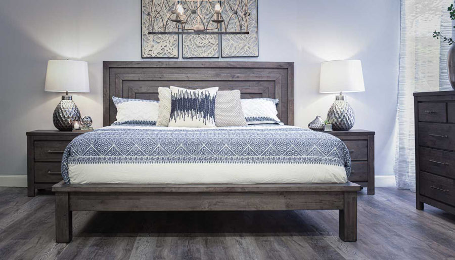 Picture of Matrix Queen Bed, Dresser, Mirror & Nightstand