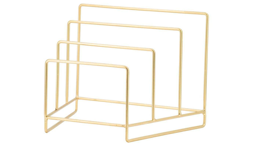Picture of HZ Gold Metal File Rack - 48185