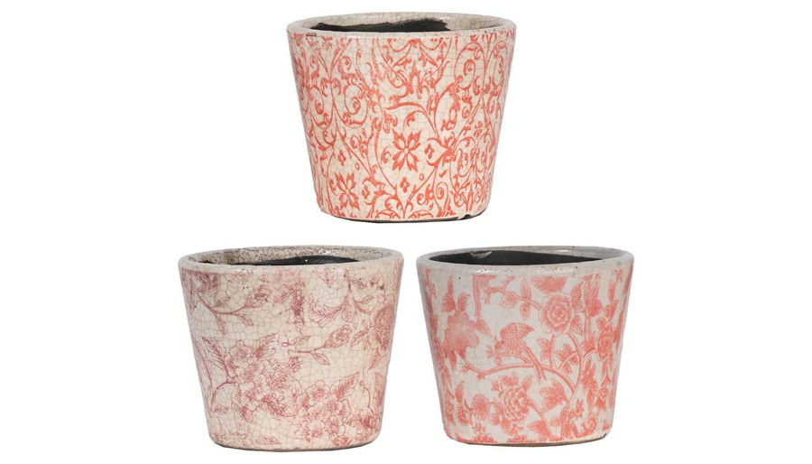 Imagen de HZ Pink Garden Planter - Choose 1 of 3 - D2247