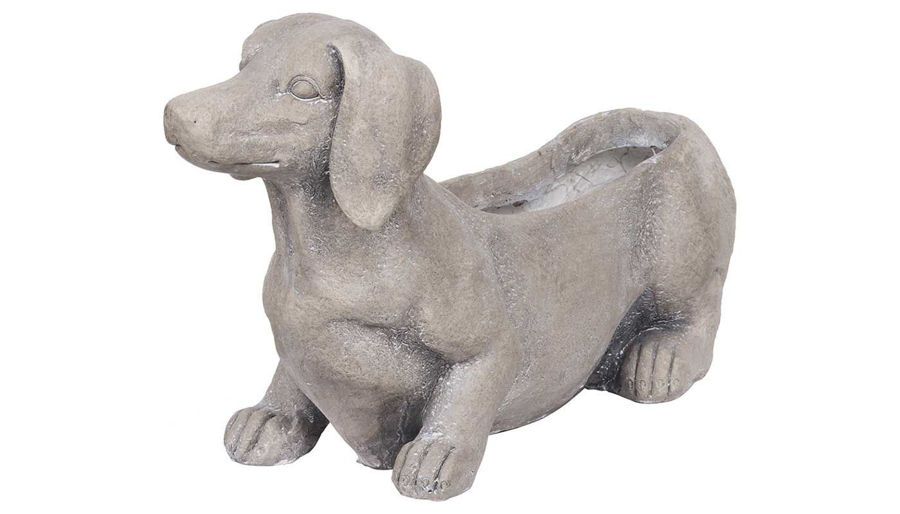 Picture of HZ Manon Dog Planter - D76708