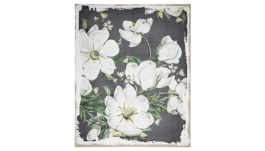 Picture of HZ Magnoia Blooms Canvas Print - JC38648