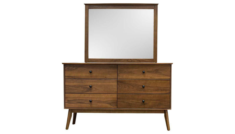 Picture of Allie Queen 3-Piece Bed, Dresser & Mirror