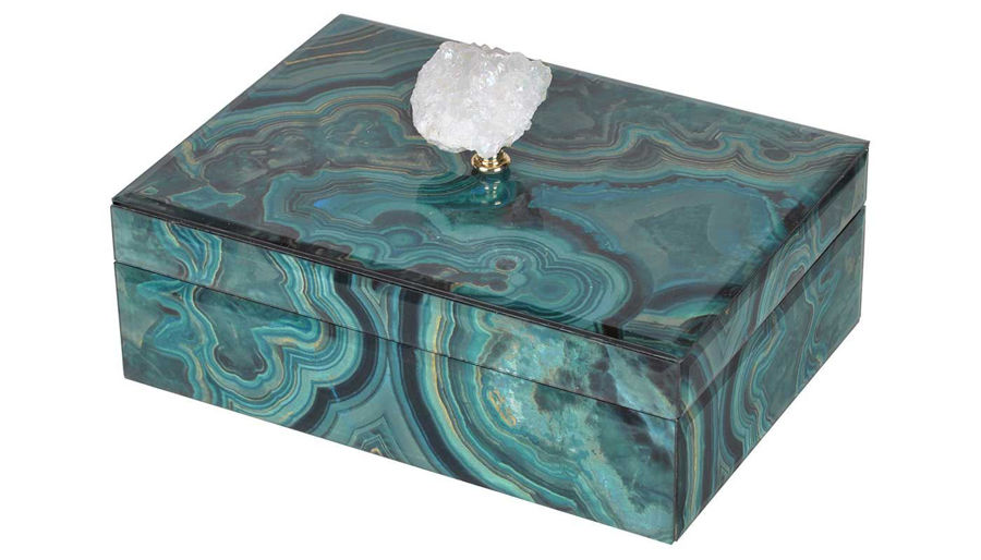 Picture of HZ Bethany Marbled Box Large - 41384