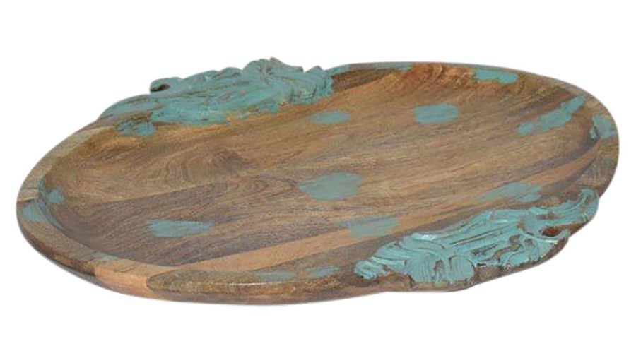 Picture of Primo Wood Carved Painted Tray