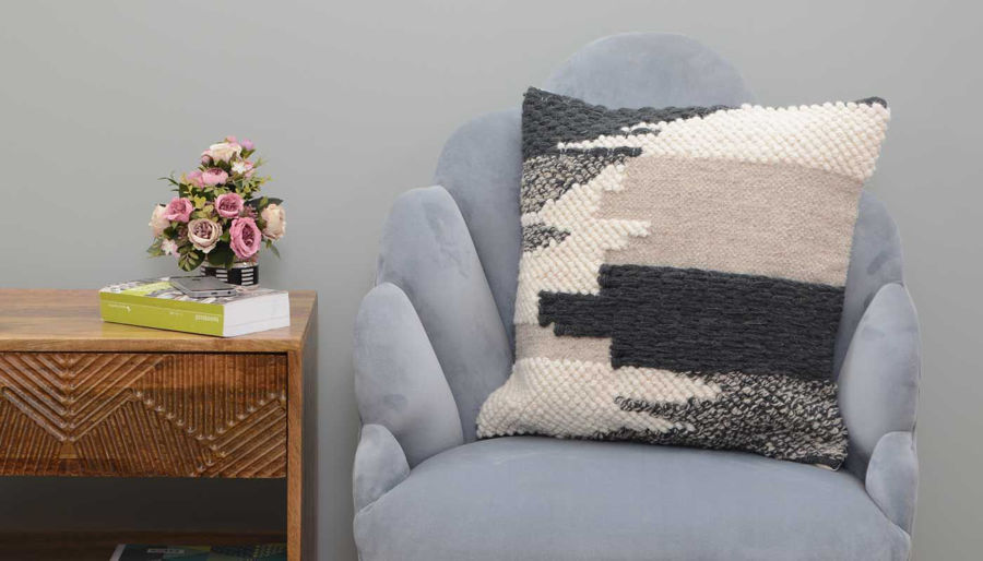 Picture of Carmen Wool Woven Pillow