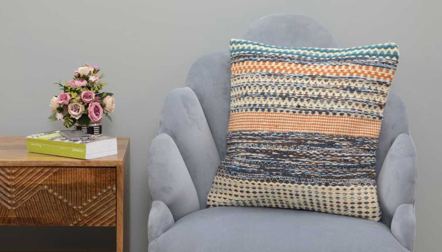 Picture of Delfina Wool Woven Pillow