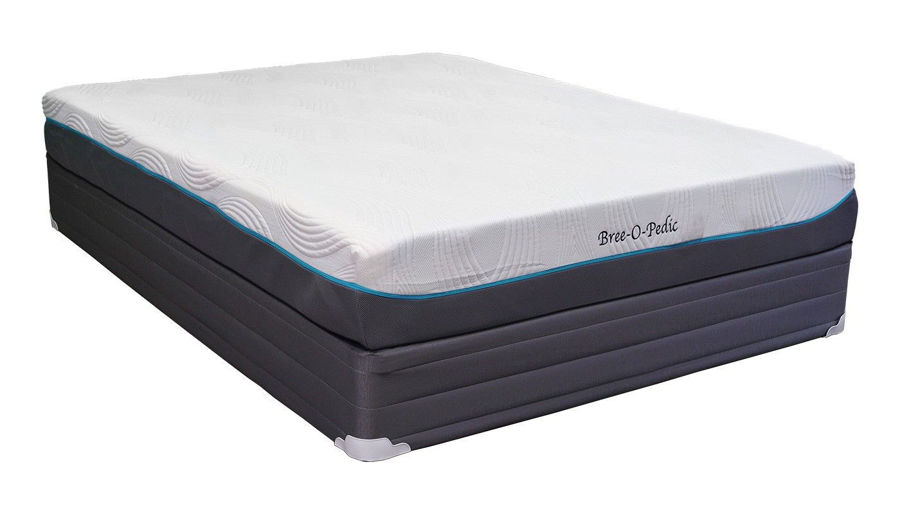 "Picture of Bree Gel 10"" Mattress"
