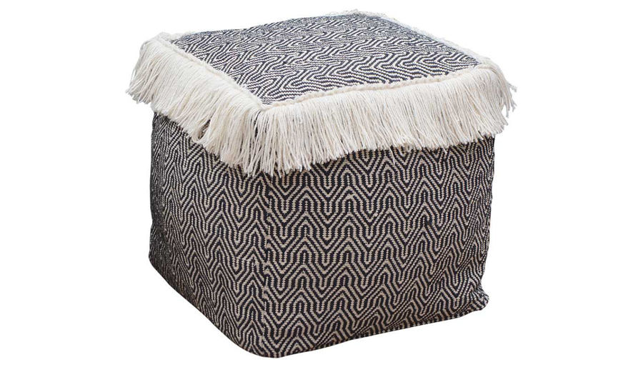 Picture of Harita Cotton Woven Pouf